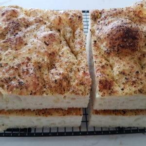 Focaccia Bread - Union Block Bakery